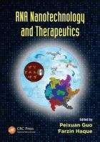 - RNA Nanotechnology and Therapeutics - 9781466505667 - V9781466505667