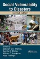 - Social Vulnerability to Disasters, Second Edition - 9781466516373 - V9781466516373
