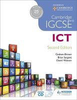 Sargent, Brian, Watson, Dave, Brown, Graham - Cambridge IGCSE ICT - 9781471807213 - V9781471807213