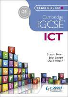- Cambridge Igcse ICT Teacher's CD - 9781471807237 - V9781471807237