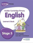 Basden, Anne - Hodder Cambridge Primary English: Student Book Stage 5: Stage 5 - 9781471830761 - V9781471830761