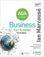 Marcouse, Ian, Watson, Nigel, Hammond, Andrew - AQA Business for A Level (Marcouse) - 9781471835698 - V9781471835698