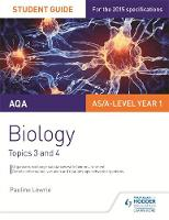 Lowrie, Pauline - AQA Biology Student Guide 2: Topics 3 and 4: Student guide 2 - 9781471843570 - V9781471843570