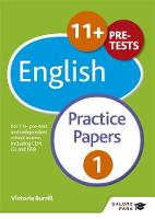 Burrill, Victoria, Hammond, Andrew - 11+ English Practice Papers 1: For 11+, Pre-Test and Independent School Exams Including CEM, GL and ISEB - 9781471849275 - V9781471849275