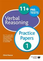Pearse, Chris - 11+ Verbal Reasoning Practice Papers 1 - 9781471849299 - V9781471849299