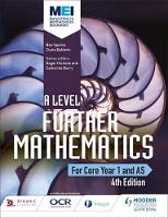 Sparks, Ben, Baldwin, Claire - MEI A Level Further Mathematics Core Year 1 (AS) - 9781471852992 - V9781471852992
