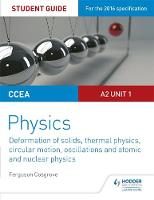 Cosgrove, Ferguson - CCEA A-Level Year 2 Physics Student Guide 3: A2 Unit 1: A2 Unit 1 - 9781471863943 - V9781471863943