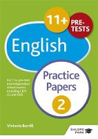 Hammond, Andrew - 11+ English Practice Papers 2: For 11+, Pre-Test and Independent School Exams Including CEM, GL and ISEB - 9781471869044 - V9781471869044
