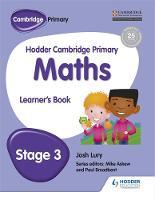 Lury, Josh - Hodder Cambridge Primary Mathematics Learner's Book 3 - 9781471884368 - V9781471884368