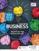 Surridge, Malcolm, Gillespie, Andrew - AQA GCSE (9-1) Business - 9781471899386 - V9781471899386
