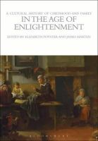 Foyster, Elizabeth - Cultural History of Childhood and Family in the Age of Enlightenment - 9781472554703 - V9781472554703