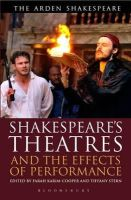 Tiffany Stern - SHAKESPEARE - 9781472558596 - V9781472558596