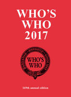 Bloomsbury - Who's Who 2017 - 9781472913609 - V9781472913609