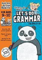 Brodie, Andrew - Let's Do Grammar 9 - 10: 9-10 - 9781472940704 - V9781472940704