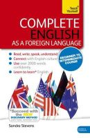 Stevens, Sandra - Complete English as a Foreign Language with Two Audio CDs: A Teach Yourself Program - 9781473601581 - V9781473601581