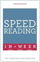 Konstant, Tina - Speed Reading in a Week - 9781473609341 - V9781473609341