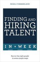 Cumberland, Nigel - Finding & Hiring Talent in A Week - 9781473623804 - V9781473623804