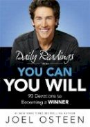 Osteen, Joel - Daily Readings from You Can, You Will - 9781473630314 - V9781473630314