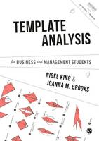 King, Nigel, Brooks, Joanna - Template Analysis for Business and Management Students (Mastering Business Research Methods) - 9781473911574 - V9781473911574
