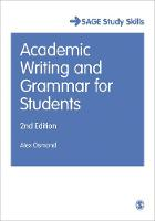 Osmond, Alex - Academic Writing and Grammar for Students (SAGE Study Skills Series) - 9781473919365 - V9781473919365