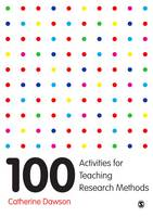 Dawson, Catherine - 100 Activities for Teaching Research Methods - 9781473946293 - V9781473946293