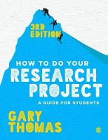 Thomas, Gary - How to Do Your Research Project: A Guide for Students - 9781473948860 - V9781473948860