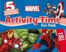 Parragon Books Ltd - Marvel Activity Time Fun Pack - 9781474852449 - 9781474852449