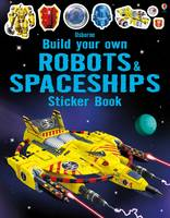 Simon Tudhope - Build Your Own Robots and Spaceships Sticker Book (Build Your Own Sticker Books) - 9781474903950 - 9781474903950