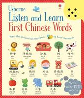 Sam Taplin, Mairi Mackinnon - Listen and Learn First Chinese Words (Listen & Learn) - 9781474921268 - V9781474921268
