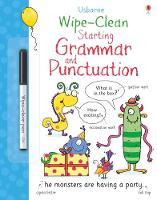 Jane Bingham (author), Gareth Williams (illustrator) - Wipe-Clean Starting Grammar and Punctuation (Wipe Clean Books) - 9781474922326 - V9781474922326
