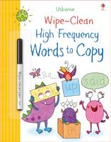 Hannah Watson - Wipe-Clean High-Frequency Words to Copy (Wipe Clean Books) - 9781474922333 - V9781474922333