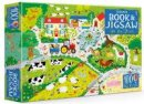 Kirsteen Robson - An Usborne Jigsaw with a Book: On the Farm - 9781474927918 - 9781474927918