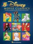 Disney - Disney Movie Classics Five-Finger Piano - 9781480363205 - V9781480363205