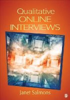 Salmons, Janet E. - Qualitative Online Interviews: Strategies, Design, and Skills - 9781483332673 - V9781483332673