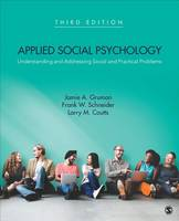 - Applied Social Psychology: Understanding and Addressing Social and Practical Problems - 9781483369730 - V9781483369730