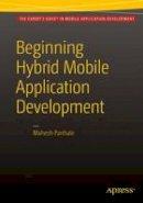 Panhale, Mahesh - Beginning Hybrid Mobile Application Development - 9781484213155 - V9781484213155