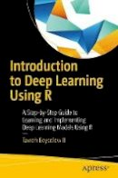 Beysolow II, Taweh - Introduction to Deep Learning Using R: A Step-by-Step Guide to Learning and Implementing Deep Learning Models Using R - 9781484227336 - V9781484227336