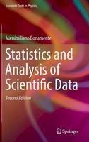 Bonamente, Massimiliano - Statistics and Analysis of Scientific Data (Graduate Texts in Physics) - 9781493965700 - V9781493965700