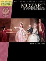 Mozart - 15 Easy Piano Pieces - Schirmer Performance Editions - Book Only - 9781495007286 - V9781495007286