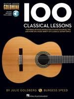 Hal Leonard Corp - 100 Classical Lessons: Guitar Lesson Goldmine Series - 9781495020087 - V9781495020087