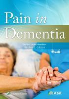 Lautenbacher, Stefan, Gibson, Stephen J. - Pain in Dementia - 9781496332134 - V9781496332134