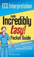 LWW - ECG Interpretation: An Incredibly Easy Pocket Guide (Incredibly Easy! Series®) - 9781496352163 - V9781496352163