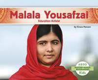 Hansen, Grace - Malala Yousafzai: Education Activist (History Maker Bios (Lerner)) - 9781496612267 - V9781496612267