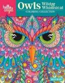 Angelea Van Dam - Hello Angel Owls Wild & Whimsical Coloring Collection (Hello Angel Coloring Collection) - 9781497202412 - V9781497202412