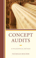 Rescher, Nicholas - Concept Audits: A Philosophical Method - 9781498540391 - V9781498540391