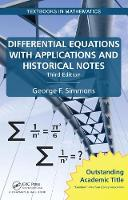 Simmons, George F. - Differential Equations with Applications and Historical Notes, Third Edition (Textbooks in Mathematics) - 9781498702591 - V9781498702591