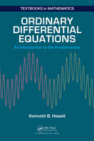Howell, Kenneth B. - Ordinary Differential Equations - 9781498733816 - V9781498733816
