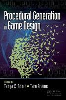 - Procedural Generation in Game Design - 9781498799195 - V9781498799195