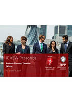 BPP Learning Media - ICAEW Business Planning: Taxation: Passcards - 9781509702480 - V9781509702480