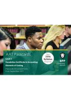 BPP Learning Media - AAT Elements of Costing: Passcards - 9781509712403 - V9781509712403